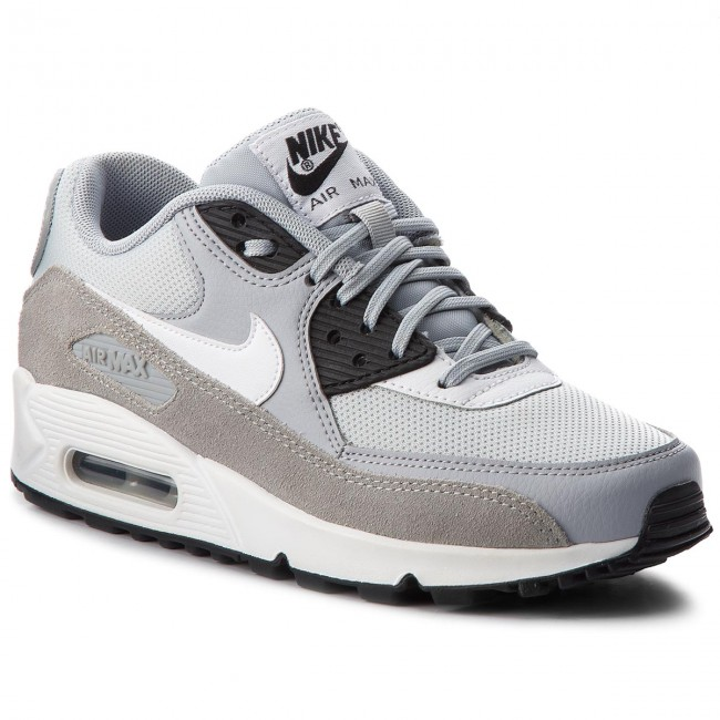Shoes NIKE - Air Max 90 325213 042  Wolf Low Grey/White/Black/White - Sneakers - Low Wolf shoes - Women's shoes cf7d31