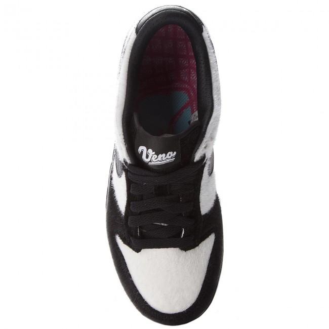Shoes NIKE - - - Dunk Low Prm Qs Bg 747072 101  White/Black - Sneakers - Low shoes - Women's shoes ac2e14
