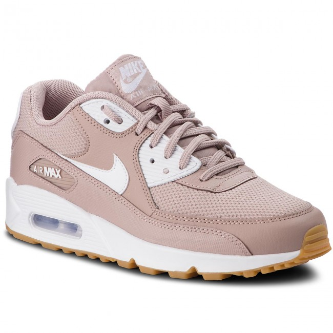 Shoes NIKE - Air Max 90 325213 210 Diffused Taupe/White shoes - Sneakers - Low shoes Taupe/White - Women's shoes 040d53