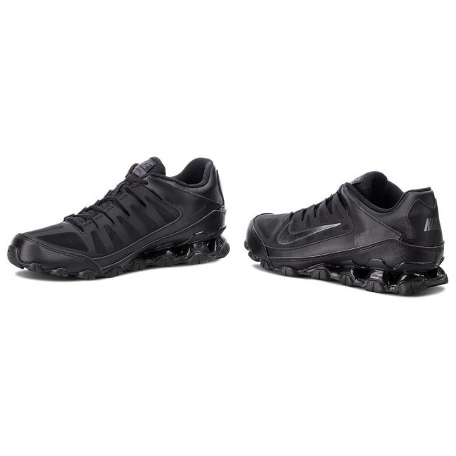 Homme / femme: tr chaussures nike - reax 8 tr femme: mesh 621716 001 noir / noir / antracite - fitness - chaussures chaussures de sport - hommes 627072