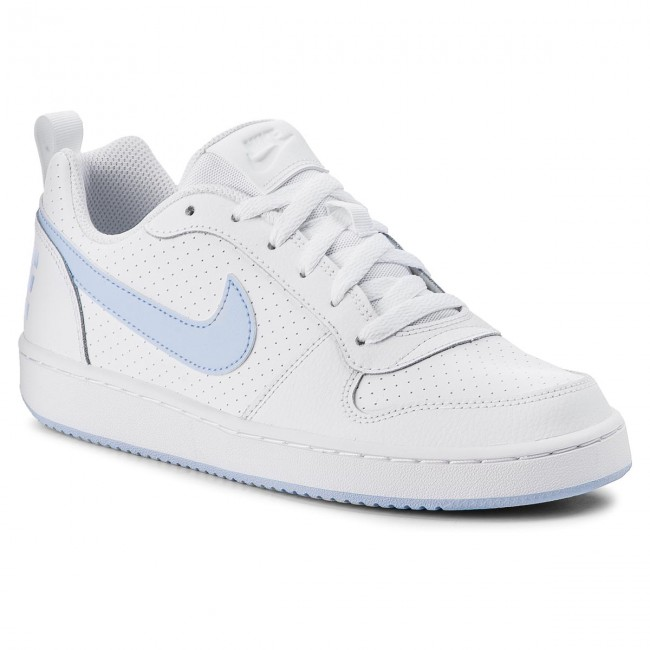 Shoes NIKE - Court Borough Low (GS) 845104 Sneakers 103 White/Royal Tint - Sneakers 845104 - Low shoes - Women's shoes cde620