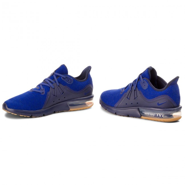 Shoes NIKE NIKE NIKE - Air Max Sequent 3 921694 405 Obsidian/Deep Royal Blue - Indoor - Running shoes - Sports shoes - Men's shoes 792ca5