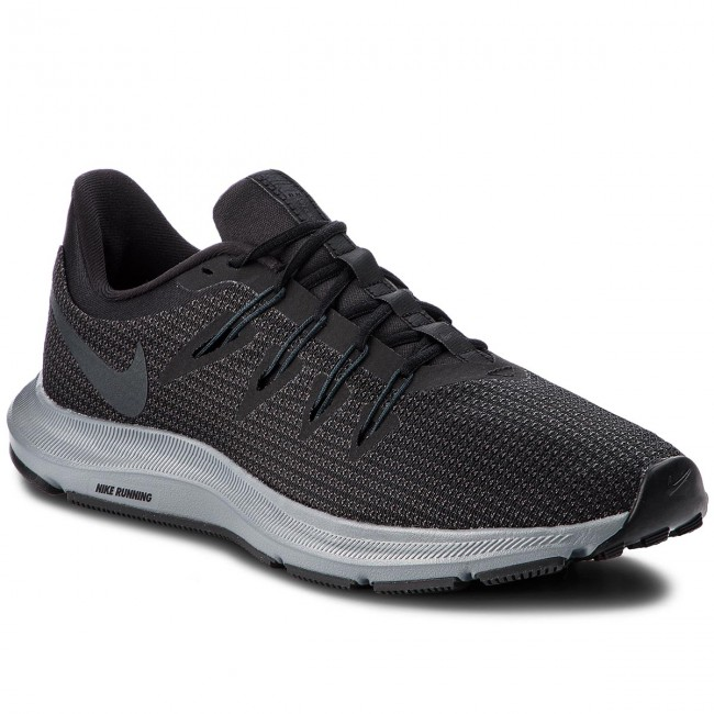 Shoes NIKE - Quest AA7403 002 Black/Anthracite/Cool Grey shoes - Indoor - Running shoes Grey - Sports shoes - Women's shoes 849f2d