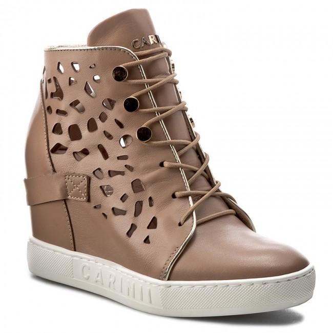 Sneakers CARINII - B4027  J98-J16-000-B88 shoes - Sneakers - Low shoes J98-J16-000-B88 - Women's shoes d255e2