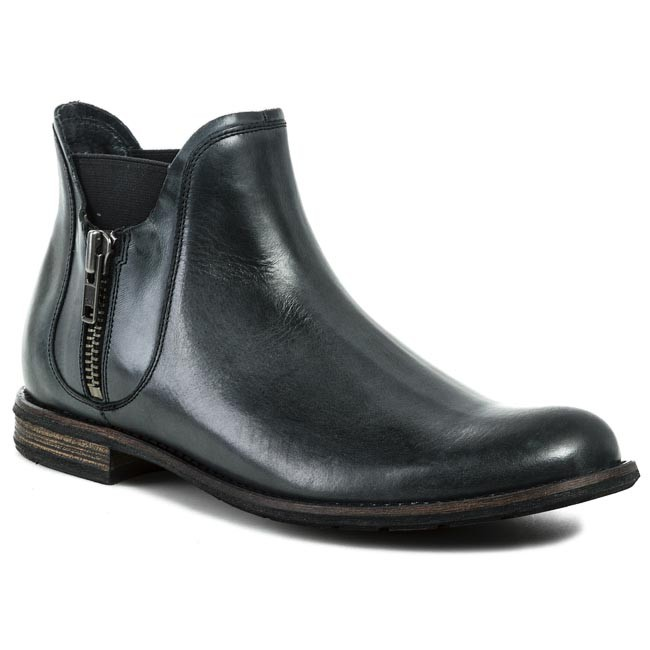 Ankle Boots GINO ROSSI - Aldo MBV257-D24-7A00-9900-F Black - Grey - Chelsea boots - Black High boots and others - Men's shoes 67cfd1