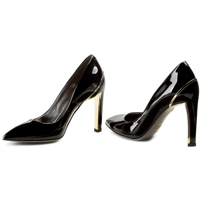 Vente chaude anet | chaussures gino rossi - anet chaude dcg360-j29-0600-9900-0 czarny 99 - talons - bas chaussures chaussures - femmes eb3ae6