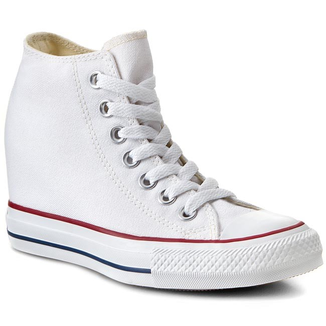Sneakers CONVERSE - CT Lux Sneakers Mid 547200C White - Sneakers Lux - Low shoes - Women's shoes 32233e