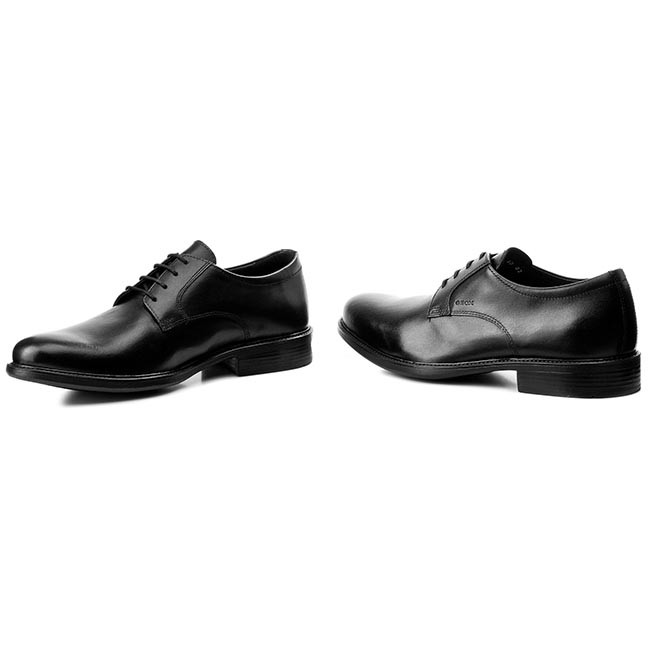 Tendance: chaussures geox geox geox - u carnaby d u52w1d formelle 00043 c9999 noir - chaussures chaussures chaussures basses - hommes 22ab20