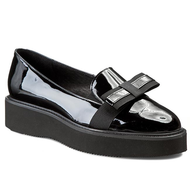 Shoes SOLO FEMME - shoes 28304-01-B48/000-03-00 Cza - Wedge-heeled shoes - - Low shoes - Women's shoes 3f201f