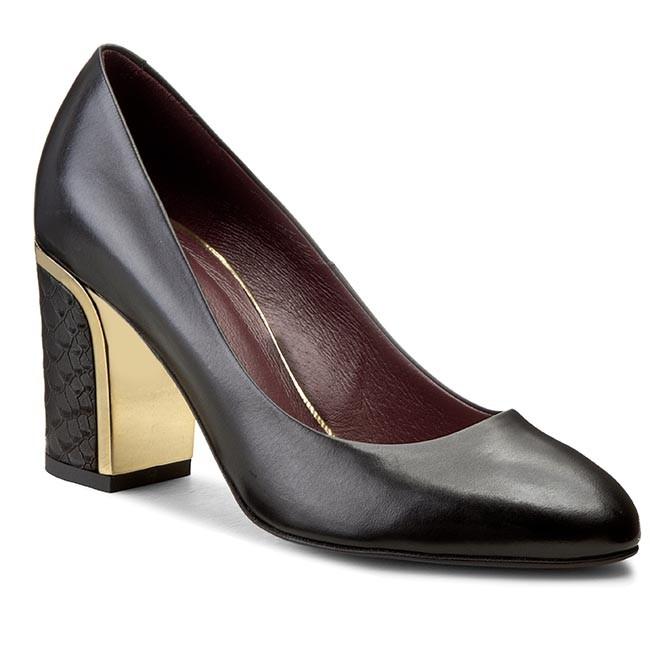 Shoes GINO ROSSI - - Lena DCG420-L36-0900-9900-0 Czarny 99 - - Heels - Low shoes - Women's shoes 2fbf7a