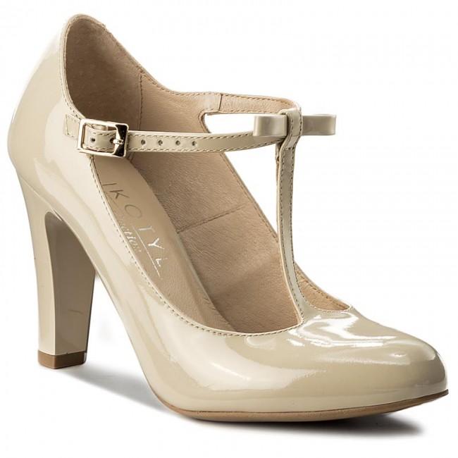Shoes KOTYL Lakier - 5875 Jasny Beż Lakier KOTYL - Heels - Low shoes - Women's shoes eb280f