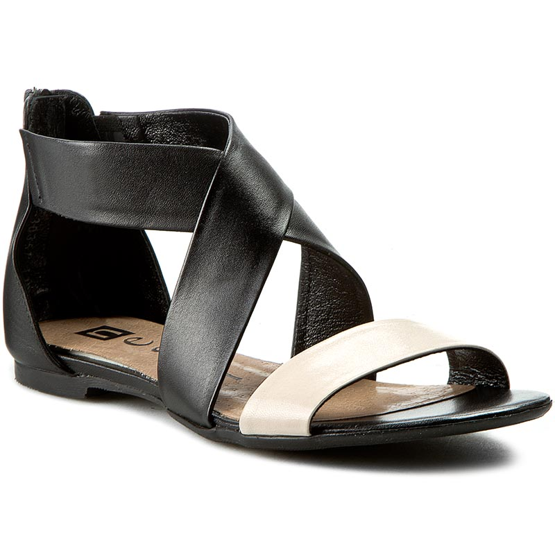 Casual 24101 Szary Sandals Nessi Mules 912 2YWIDH9E